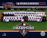 The Detroit Tigers 2012 American League Champions Team Photo