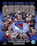 New York Rangers All-Time Greats Composite