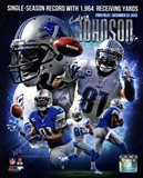 Calvin Johnson Single-Season Receiving Yards Record Portrait Plus