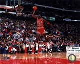 Michael Jordan 1988 NBA Slam Dunk Contest Action