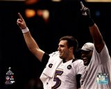 Joe Flacco & Ray Lewis Super Bowl XLVII Celebration