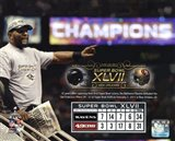 Ray Lewis Super Bowl XLVII Champion Overlay