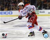 Alex Ovechkin On The Hockey Ice