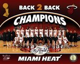 Miami Heat 2013 NBA Champions Team Photo