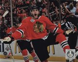 Patrick Kane celebrating first goal Game 5 of the 2013 Stanley Cup Finals