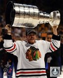 Andrew Shaw with the Stanley Cup Game 6 of the 2013 Stanley Cup Finals
