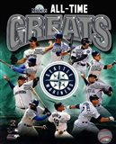 Seattle Mariners All Time Greats Composite