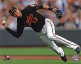 Manny Machado 2013 Action