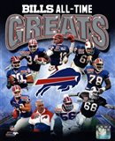 Buffalo Bills All Time Greats Composite