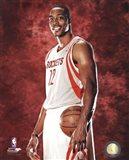 Dwight Howard #12 of the Houston Rockets posed