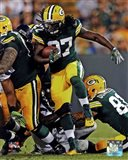 Eddie Lacy with the ball 2013