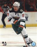 Zach Parise 2013-14 Action