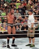 Randy Orton & John Cena 2013 Survivor Series Action