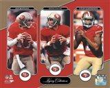 Joe Montana, Steve Young, & Colin Kaepernick Legacy Collection
