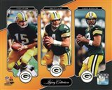 Bart Starr, Brett Favre, & Aaron Rodgers Legacy Collection