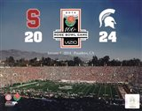 2014 Rose Bowl Champions Michigan Spartans Vs. Stanford Cardinals