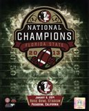 Florida State Seminoles 2014 BCS National Champions Team Logo
