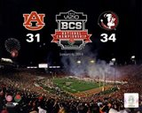 2014 BCS National Championship Florida State Seminoles vs. Auburn Tigers at the Rose Bowl