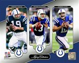 Johnny Unitas, Peyton Manning, & Andrew Luck Legacy Collection