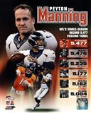 Peyton Manning Single Season Passing Yards Record