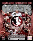 Florida State University Seminoles All Time Greats Composite