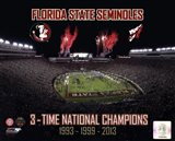 Florida State Seminoles 3- Time National Champions