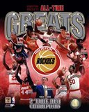Houston Rockets All-time Greats Composite