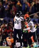 Kam Chancellor & Earl Thomas Celebrate Chacellor's Interception Super Bowl XLVIII