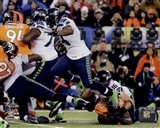 Marshawn Lynch Super Bowl XLVIII Action