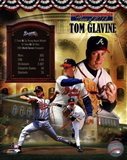 Tom Glavine MLB Hall of Fame Legends Composite