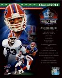 Andre Reed 2014 Hall of Fame Composite