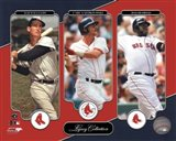 Ted Williams, Carl Yastrzemski, David Ortiz Legacy Collection