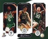 Bill Russell, John Havlicek, & Larry Bird Legacy Collection