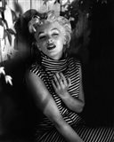 Marilyn Monroe 1954 Striped Dress