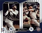NY Yankees Legacy Collection #3 Babe Ruth & Mickey Mantle