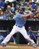 Eric Hosmer Baseball Hitting Pose