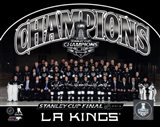Los Angeles Kings 2014 NHL Stanley Cup Champions Team Sit Down Photo - your walls, your style!