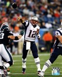 Tom Brady 2014 throwing the ball