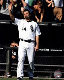 Paul Konerko leaves the field for the last time- September 28, 2014