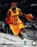 LeBron James 2014-15 Spotlight Action