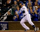 Omar Infante Game 2 of the 2014 World Series Action