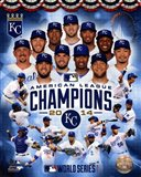 Kansas City Royals 2014 American League Champions Composite