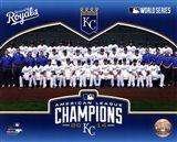 Kansas City Royals 2014 American League Champions Team Sit Down
