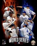2014 MLB World Series Match Up Composite San Francisco Giants vs. Kansas City Royals