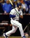 Mike Moustakas Game 6 of the 2014 World Series Action