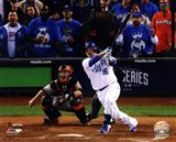 Billy Butler Game 6 of the 2014 World Series Action