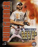 Madison Bumgarner 2014 World Series MVP Portrait Plus