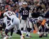 Tom Brady pointing 2014