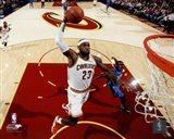 LeBron James 2014-15 slam dunk