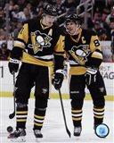 Evgeni Malkin & Sidney Crosby  2014-15 Action